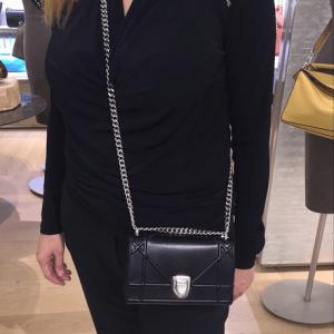 Dior Black Diorama Mini Bag