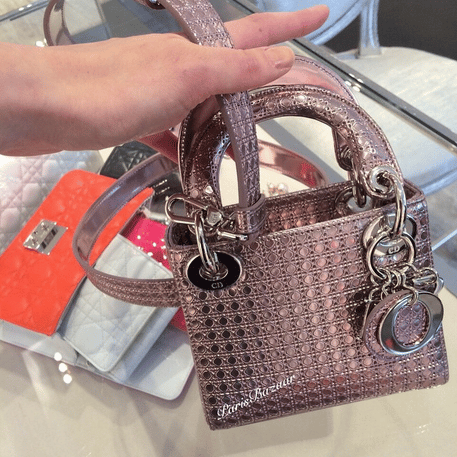 eab1e7184e2 Lady Dior Micro Bag for Spring Summer 2015 Collection   Spotted Fashion