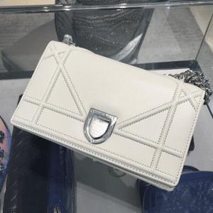 Dior Off White Diorama Mini Bag