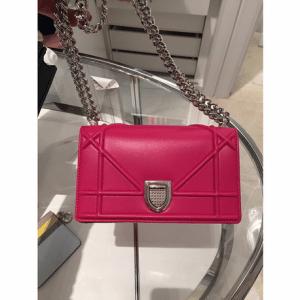 Dior Pink Diorama Mini Bag