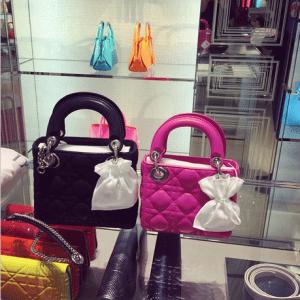 Dior Pink Lady Dior Micro Bag