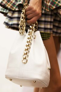 Dior White Python Bucket Bag - Cruise 2016