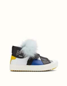 Fendi Blue Karlito Sneakers