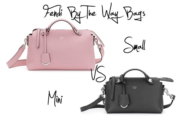 7e51acbb37 Fendi By The Way Bags  Small versus Mini