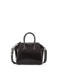 Givenchy Black Box Calf Antigona Mini Bag