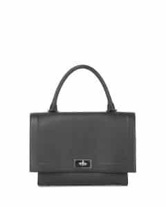 Givenchy Black Shark Satchel Bag