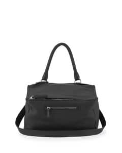 Givenchy Black Sugar Pebbled Pandora Medium Bag