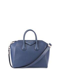 Givenchy Blue Sugar Antigona Medium Bag