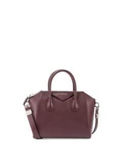 Givenchy Burgundy Sugar Antigona Small Bag