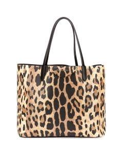 Givenchy Leopard Print Antigona Tote Bag