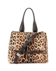 Givenchy Leopard Print Pandora Pure Small Bag