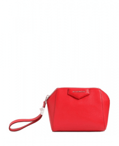 Givenchy Red Antigona Beauty Wristlet Small Bag