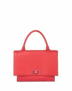 Givenchy Red Shark Satchel Bag