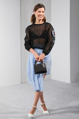 Check out these photos from fashion blogger stylist Hanneli Mustaparta  carrying the Lady Dior Mini and Micro bags on separate events. 1f73c35671569
