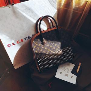 Kayture - Louis Vuitton Shopping Bag by Christian Louboutin