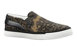 Louis Vuitton Beige Nemeth Slip-On Sneakers
