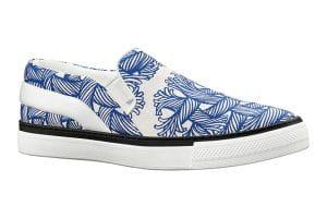 Louis Vuitton Blue Nemeth Slip-On Sneakers