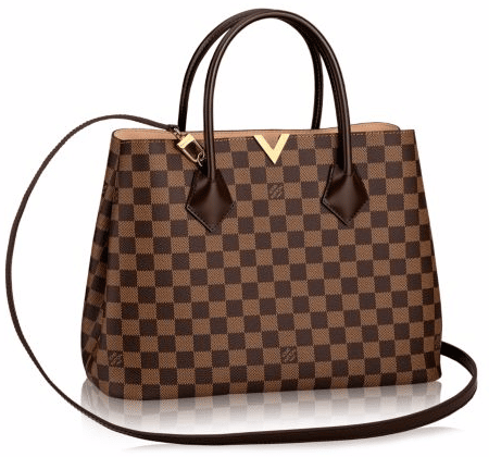 Louis Vuitton Damier Ebene Kensington Bag 1