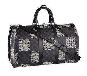 Louis Vuitton Damier Graphite Nemeth Keepall 45 Bandouliere Bag
