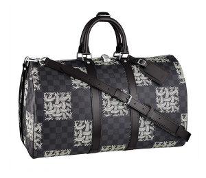 Louis Vuitton Damier Graphite Nemeth Keepall 45 Bandouliere Bag