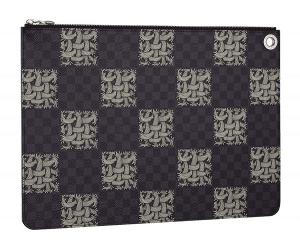 Louis Vuitton Damier Graphite Nemeth Pochette Jour GM Bag