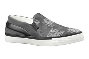 Louis Vuitton Damier Graphite Nemeth Slip-On Sneakers