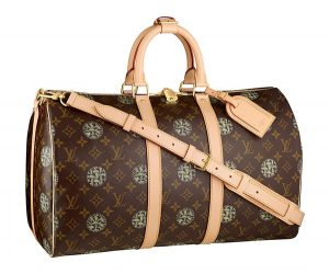 Louis Vuitton Monogram Nemeth Keepall 45 Bandouliere Bag
