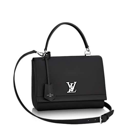 Louis Vuitton Noir Lockme II Bag