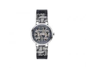 Louis Vuitton Tambour Damier Graphite Rope Watch