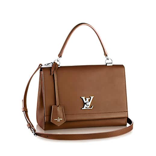 Louis Vuitton Tan Lockme II Bag