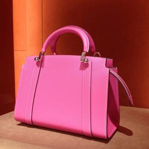 Moynat Fuchsia Pink Petite Ballerine Bags
