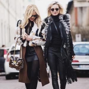 Peace Love Shea - Fendi Monster Fur:Calf Hair Be Baguette Bag