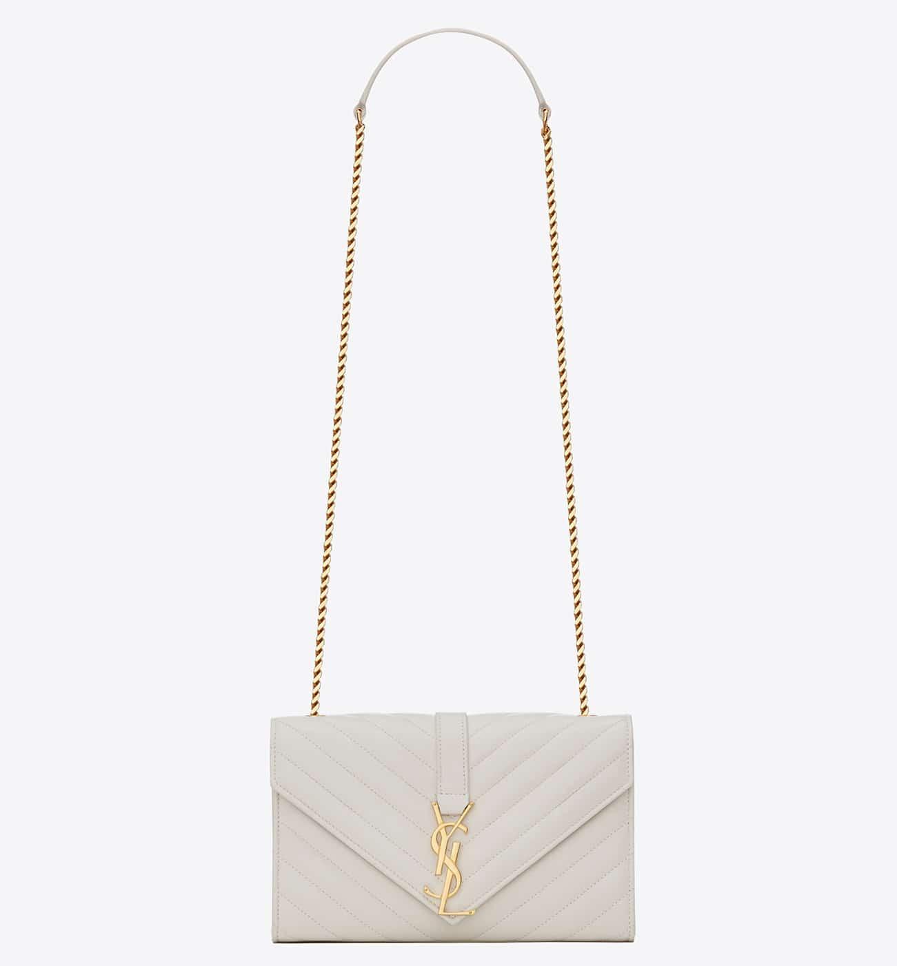 Saint Laurent Monogram Matelassé Flap Bag Reference Guide ...