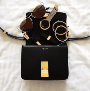 Song of Style - Celine Classic Box Bag