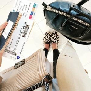 Tuula - Chanel Chevron Boy Bag and Givenchy Antigona Bag