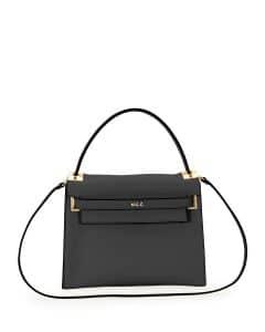 Valentino Black My Rockstud Top Handle Bag