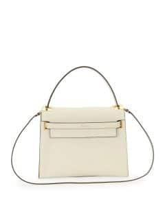 Valentino Ivory My Rockstud Top Handle Bag