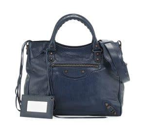 Balenciaga Bleu Obscur Velo Bag