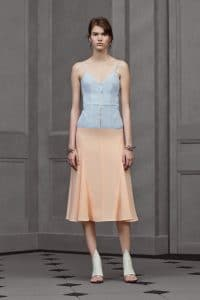 Balenciaga Light Blue/Pink Dress - Resort 2016