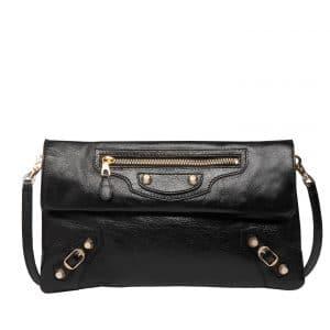 Balenciaga Noir Envelope Strap Bag