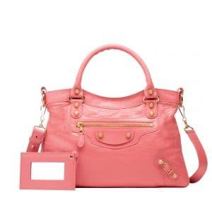 Balenciaga Rose Jaipur Town Bag