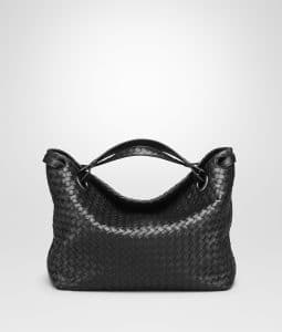 Bottega Veneta Black Bella Tote Bag