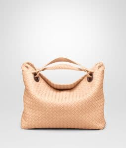 Bottega Veneta Flamingo Bella Tote Bag