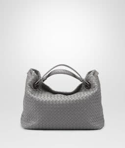 Bottega Veneta New Light Grey Bella Tote Bag