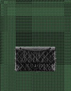 Chanel Black 2.55 Reissue 225 Flap Bag