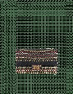 Chanel Multicolor Tweed 2.55 Reissue 225 Flap Bag