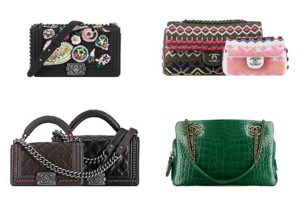 204b4126e0c3 Chanel Pre-Fall 2015 Bag Collection Featuring Embroidered Bags ...