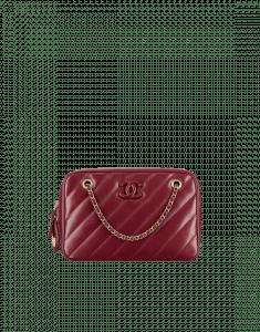 Chanel Red Camera Case Bag