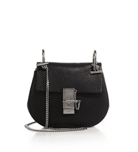 Chloe Black Drew Mini Bag