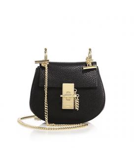 Chloe Black Drew Nano Bag